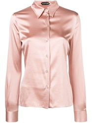 Tom Ford Slim Shirt Pink