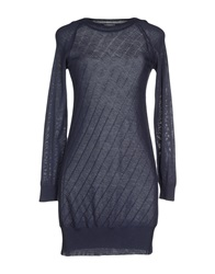 Bramante Short Dresses Dark Blue