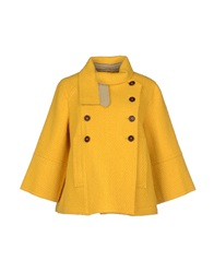 Jejia Coats Yellow