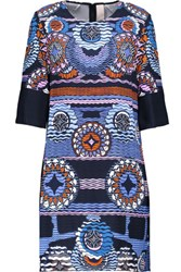 Peter Pilotto Lia Printed Stretch Crepe Mini Dress Multi