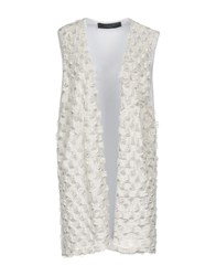 Federica Tosi Knitwear Cardigans White