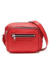 Mcq By Alexander Mcqueen Woman Leather Shoulder Bag Red
