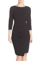 Women's Nydj 'Josette' Stretch Crepe Sheath Dress