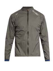 Soar Lightweight Waterproof Running Jacket Grey Multi