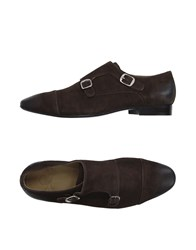 Mr. Wolf Footwear Moccasins Men Dark Brown
