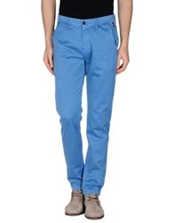 Franklin And Marshall Casual Pants Azure