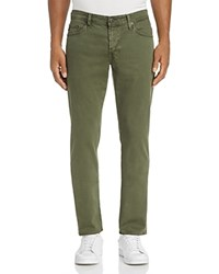 Ag Jeans Sud New Tapered Fit In Sulfur Climbing Ivy