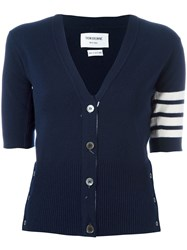 Thom Browne Cashmere Shortsleeved Cardigan 60