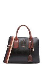 Marc Jacobs Big Shot Satchel Black Multi