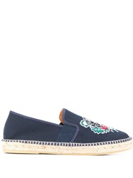 Kenzo Embroidered Canvas Espadrilles 60