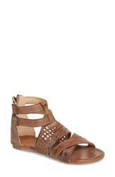 Bed Stu Capriana Sandal Tan Mason Leather