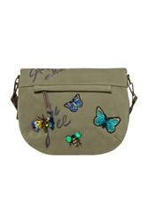 Desigual Bag Folded Saturyay Green