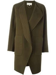 Vanessa Bruno Waterfall Coat Green