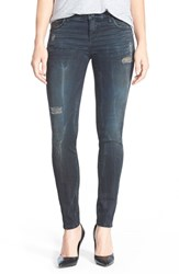 Women's Kut From The Kloth 'Mia' Distressed Skinny Jeans Contribute