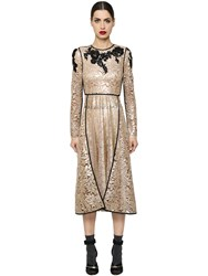 Antonio Marras Embroidered Macrame Lace Dress
