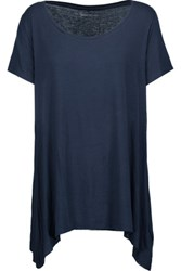 Majestic Stretch Jersey T Shirt Midnight Blue