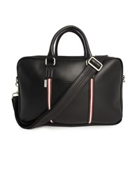 Ben Sherman Black Double Zip Briefcase