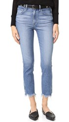 3X1 W3 Straight Authentic Crop Jeans Ace