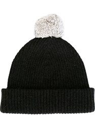 Marc Jacobs Pom Pom Beanie Black