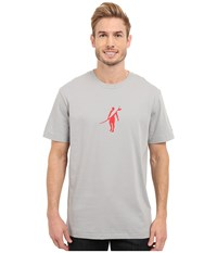 Toes On The Nose Dawn Patrol T Shirt Silver Men's T Shirt