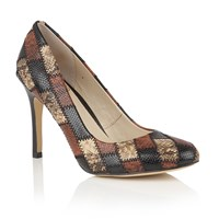 Lotus Ette Animal Print Courts Brown