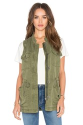 Sanctuary Canyon Military Vest Green