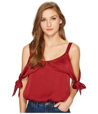 Lucy Love Allure Top Port Clothing Burgundy