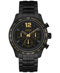 Guess Men's Black Stainless Steel Bracelet Watch 44Mm U0969g2