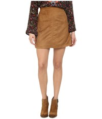 Sanctuary Easy Mod Skirt Dark Real Khaki Women's Skirt Beige