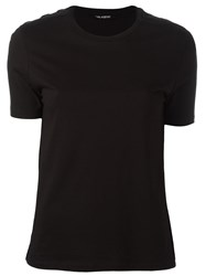 Neil Barrett Woven Shoulder T Shirt Black