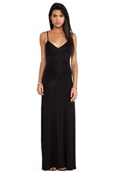 Dolan Slip Maxi Dress Black