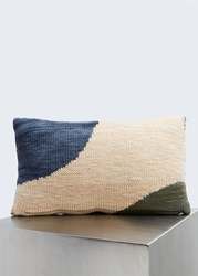 Minna Hillside Lumbar Pillow Green Blue Tan