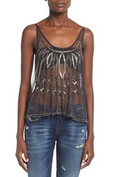 Women's Raga Sequin Crop Camisole
