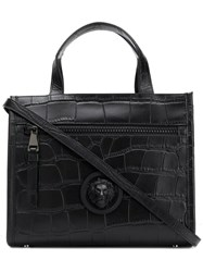 Versus Lion Head Tote Bag Black