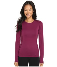 Arc'teryx Phase Sl Crew Long Sleeve Light Chandra Women's Clothing Red