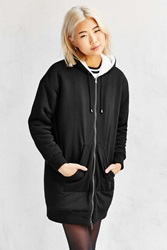 Members Only Sherpa Hooded Sweatshirt Black
