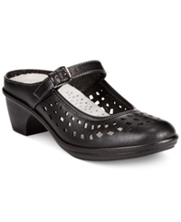 Easy Street Shoes Easy Street Chicago Clogs Women's Shoes Black