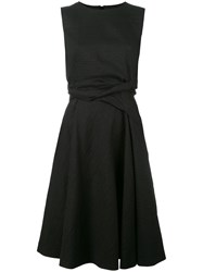 Sportmax 'Vito' Fit And Flare Dress Black
