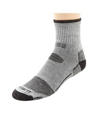 Carhartt Merino Wool All Terrain Quarter Sock Heather Gray Men's Quarter Length Socks Shoes