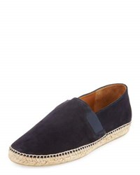 Vince Tucker Leather Espadrille Blue