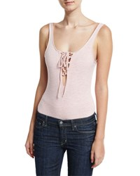 Lucca Couture S L Bodysuit Light Pink