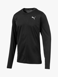 Puma Ignite Long Sleeve Training Top Black
