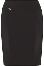 Just Cavalli Stretch Crepe Mini Skirt