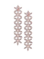 Adriana Orsini Flower Drop Earrings Silver