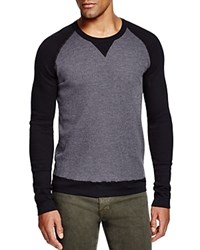 Splendid Thermal Raglan Tee Black