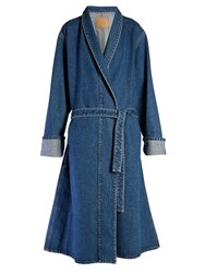 Balenciaga Stone Washed Denim Coat