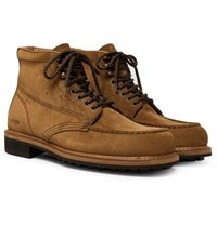 Tom Ford Cromwell Suede Boots Light Brown