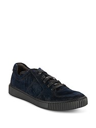 John Varvatos Bedford Lace Up Sneakers Midnight