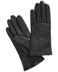 Charter Club Tech Palm Leather Gloves Only At Macy's