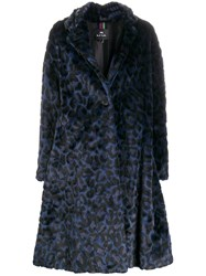 Paul Smith Ps Leopard Print Coat 60